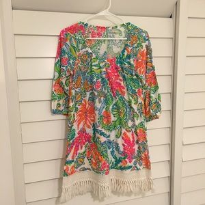 Lilly Pulitzer dress/coverup